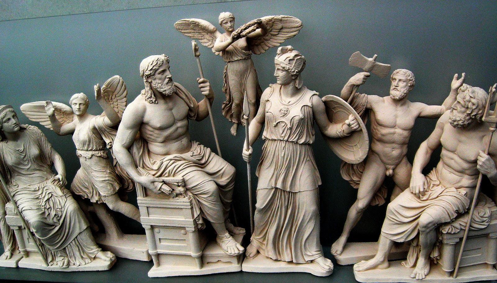12 olympian gods